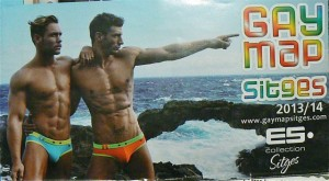 Sitges gay map