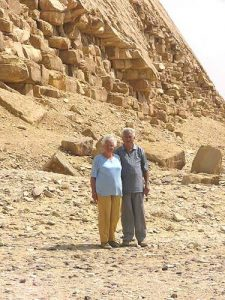 A group tour with the Dutch Djoser company traveled from