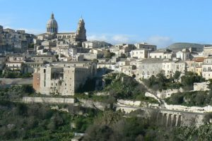Ragusa - The Cathedral of San Giovanni Battista is the