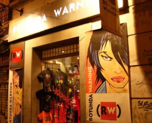 Trendy shop in Chueca