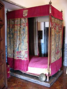 Death bed of King Philip II