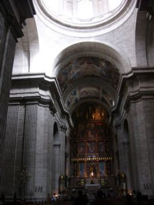 The basilica at El