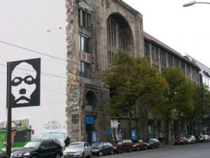 Berlin - The famous artist cooperative Tacheles in