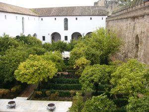 Cordoba - gardens of the Alcazar