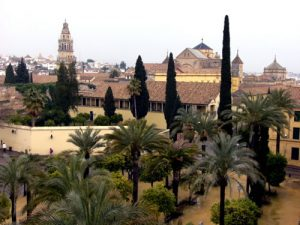 Cordoba - view of the Mezquita