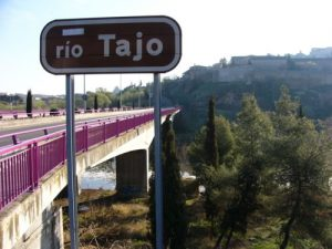 Toledo is surrounded by the River Tajo.