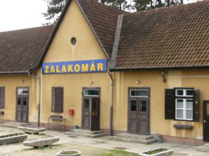 Hungary: Rail Travels - Zalakomar station