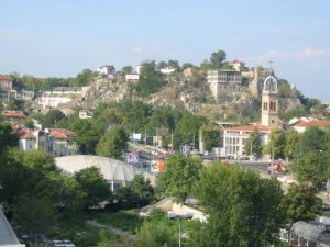Plovdiv Old Town Overview