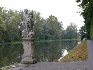 Wilanow Palace The extensive grounds and gardens include a lake that