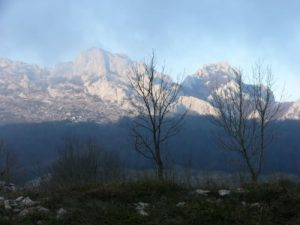 The Dinaric Alps form a mountain chain in southern Europe,