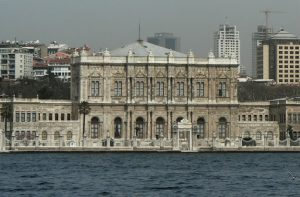 Dolmabahce Palace on the Bosphorus