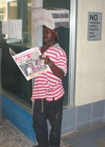 Downtown Kingston - Newspaper