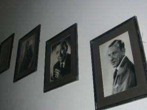 Photos of Noel Coward inside Firefly house