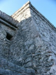 The ruins at Tulum date from
