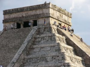 Chichen Itza Dominating the center of Chichén is the Temple of