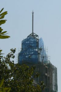 Bangalore - new buildings for high tech companies.