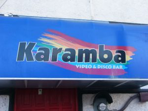 Mexico, Cancun - gay bar in Centro district, away from