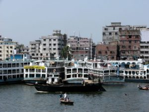 Dhaka is the capitol of Bangladesh with about 14 million