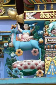 Ornate temple details (baby