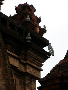 Nha Trang - Thap ba Ponagar temple; the Cham towers of