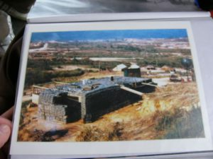Photo of a bunker in the