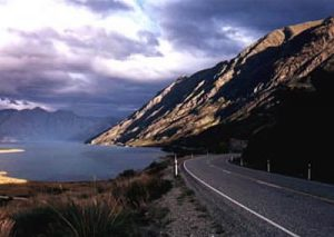 Beautiful South Island roadway