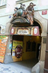 Prague is home to some famous marionette theatres;  we saw