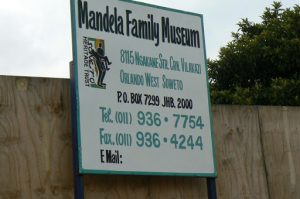 In one Soweto township is the Nelson Mandela Family Museum