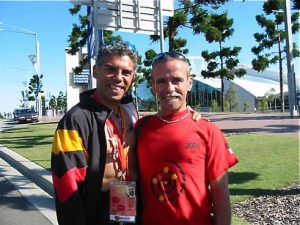 Indigenous Australian athletes.