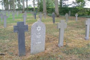 Meuse-Argonne Region: German cemetery near Romagne-sous-Montfaucon. Many graves are from