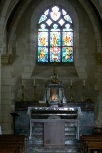 Altar of the church today