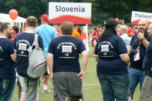 Bowlers from Slovenia--big and strong!