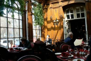 Interior of Pushkin Cafe