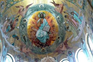 Intricate mosaics inside the church took seven years to restore.
