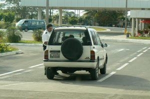 Geo Tracker (my fav car) at the airport