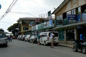 Main street in Monteverde