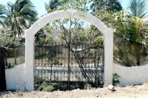 Old gate to nowhere
