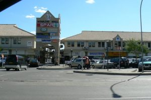 Nswazwi Mall in Francistown, the second largest city in Botswana.