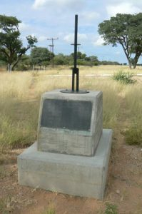 Tropic of Capricorn monument; marks the most southerly latitude