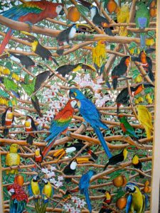 Brazil - Ipanema; the Fairy Market art detail