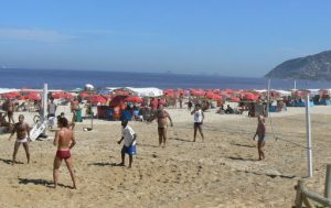 Brazil - Rio - Ipanema Beach  The 'beach culture' includes