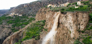 Oman - Al Jabal Al Akhdar waterfall