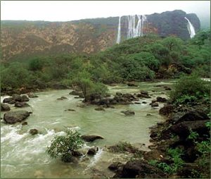 Oman - Salala-Monsoon River