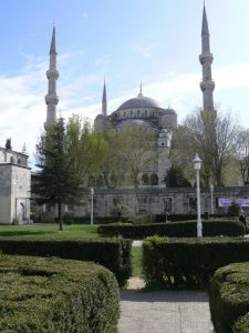 Turkey, Istanbul - magnificent Blue Mosque