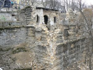 Odessa, Ukraine - ruins of the old city