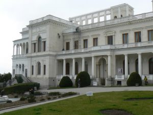 At the western edge of Yalta is the Livadia Palace,
