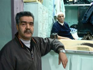 The father and son who run the El-Kachachine hammam bath
