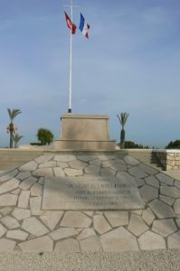 Tunisia, World War II French cemetery in the Tunis suburb