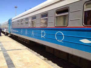 Uzbekistan: Bukhara The train from Samarkand to Bukhara is comfortable first
