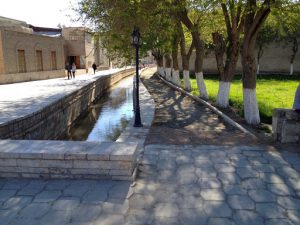 Uzbekistan: Bukhara???? Until a century ago Bukhara was watered by a